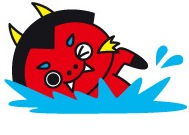 ばらもんちゃん「泳ぐ」2